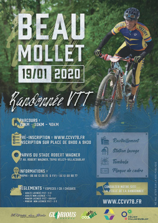 Affiche Randonnée VTT - Beau Mollet